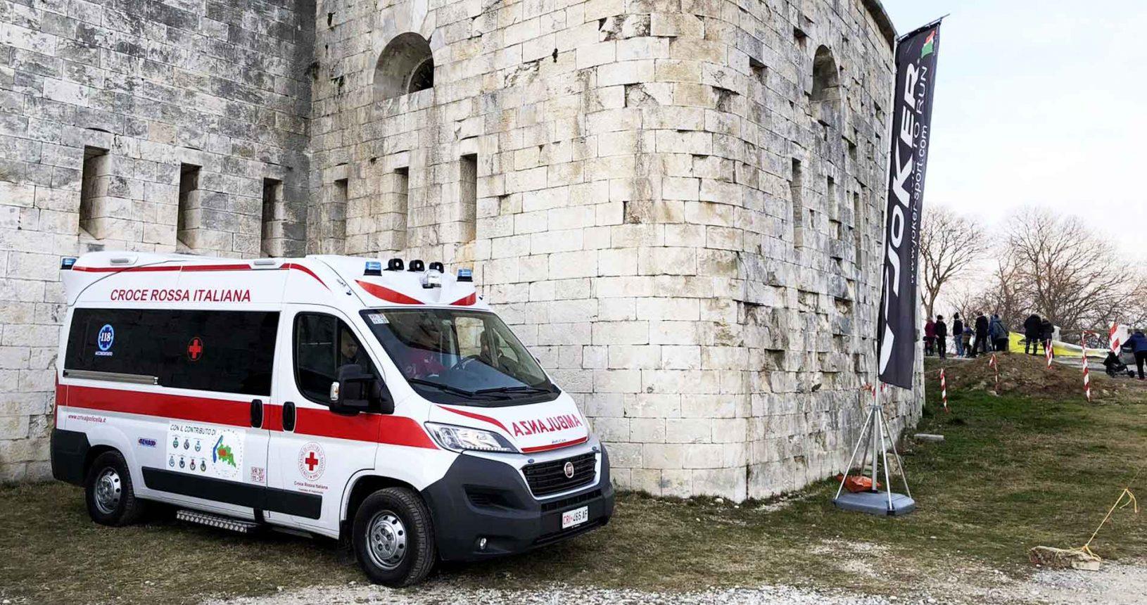 ambulanza della Croce Rossa Valpolicella