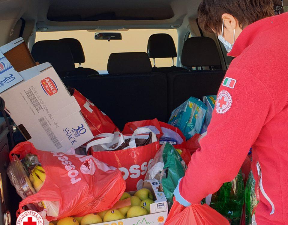 Consegne a domicilio Croce Rossa Valpolicella