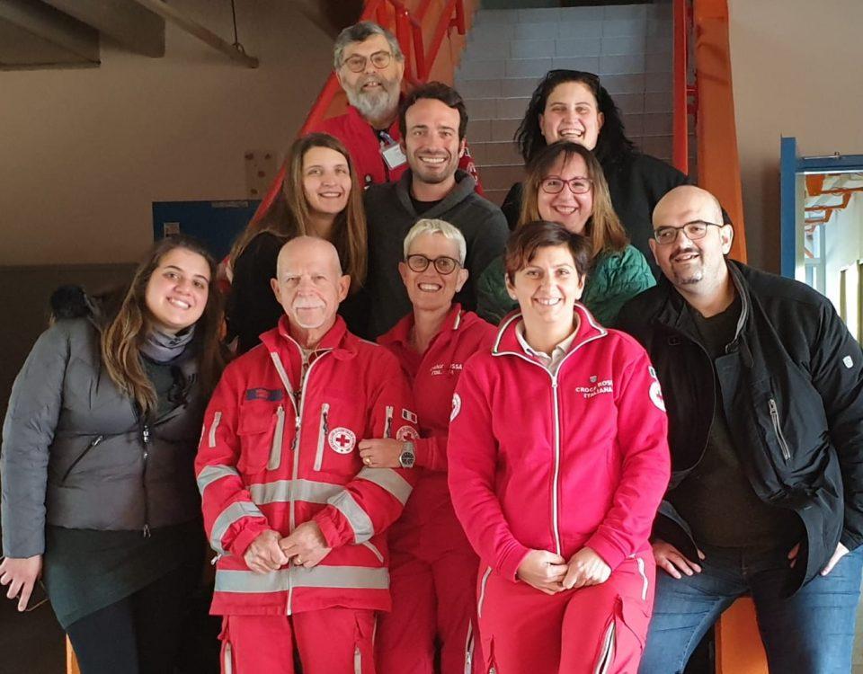 Corso nuovi volontari Croce Rossa Valpolicella